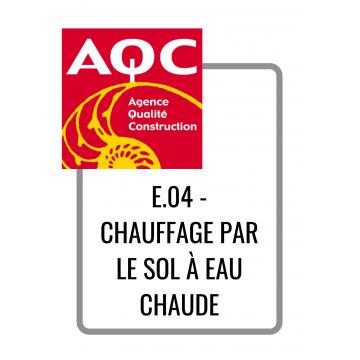 E.04 - CHAUFFAGE PAR LE SOL...