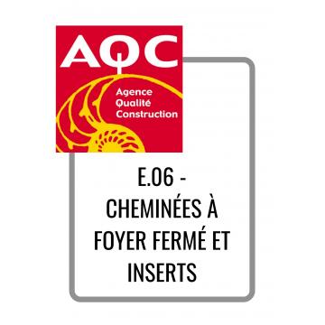 E.06 - CHEMINÉES À FOYER...
